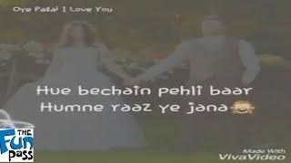 Whatsapp Status Viral Video #22 | Hue Bechain Song| Ek Haseena Thi Ek Deewana Tha | Love Song
