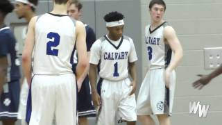 Olufemi Boko - Calvary Baptist Sr. Point Guard can play on both ends! #IGHoopMix