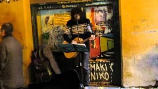 Julio - Dulce Lagrima de Sal (live en El Tubo - Zaragoza 5.11.11).avi