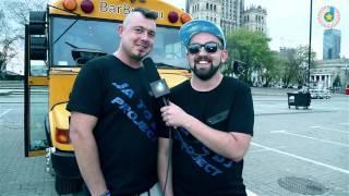 Di Dżej Mietek i Dj Jarząb na planie ''Tylko Bounce'' Making off HD! www.Discomax.pl