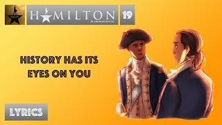 #19 Hamilton - History Has Its Eyes On You [[MUSIC LYRICS]]