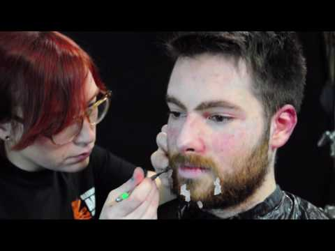 Frozen Man Special Effects Make-up Tutorial