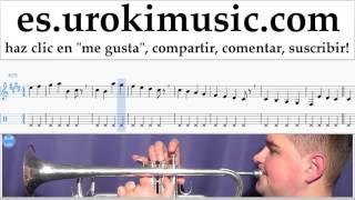 Tutorial de Trompeta Luis Fonsi ft. Daddy Yankee - Despacito Clases Notas Parte#1 um-i927