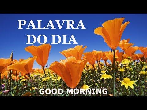 PALAVRA DO DIA 27/07/2019 - MENSAGEM DE BOM DIA MOTIVACIONAL PARA REFLEXÃO DE VIDA GOOD MORNING DAY