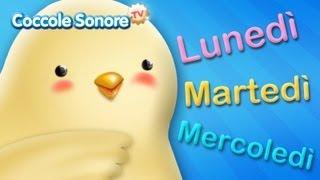 La canzone dei giorni della settimana - Canzoni per bambini di Coccole Sonore