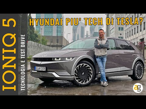 IONIQ 5 HYUNDAI test drive, tecnologia,  …