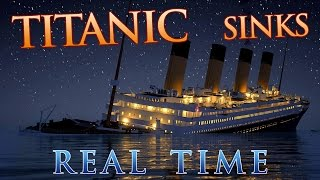Titanic sinks in REAL TIME - 2 HOURS 40 MINUTES width=