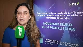 CCGM sur les nouveaux enjeux de la digitalisation : Déclaration de Meriem Zaïri