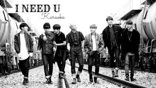 BTS - I NEED U (Official Instrumental) +Karaoke