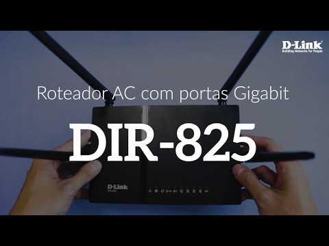 O roteador gigabit para conexões velozes