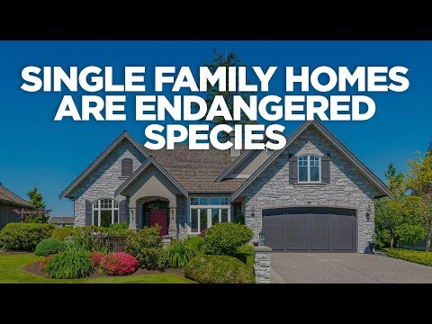 Single Family Homes are Endangered Species - Real Estate Investing with Grant Cardone photo