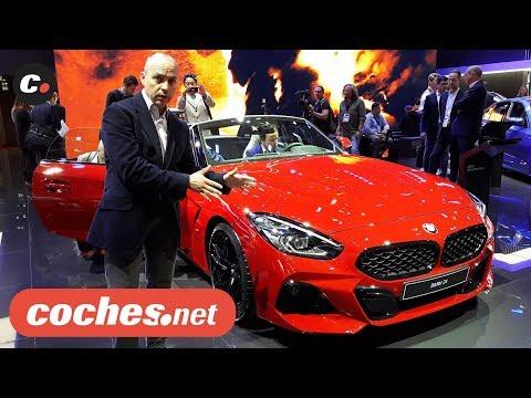 BMW Z4 Roadster 2019 | Salón de París 2018 | Mondial de l'Auto | coches.net