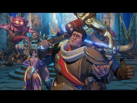 12 Minutes of Orcs Must Die Unchained Gameplay - PSX 2016