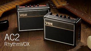 VOX AC2 RhythmVOX Series - MINI GUITAR/BASS AMPLIFIER WITH RHYTHM