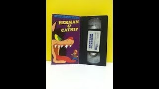 Oepning To Cartoon Classics:Herman & Catnip 1991 VHS