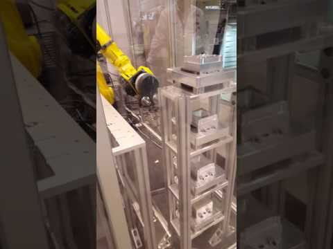 Unilock & Fanuc Automated Loading Cell at IMTS 2016