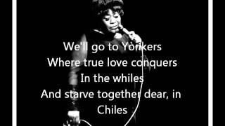 Manhattan - Ella Fitzgerald lyrics
