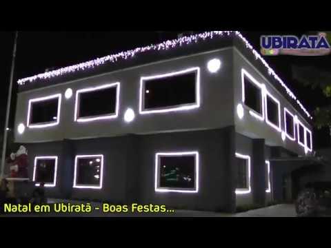 Mensagem de Natal do Prefeito Baco para todas família Ubiratanense - Cidade Portal