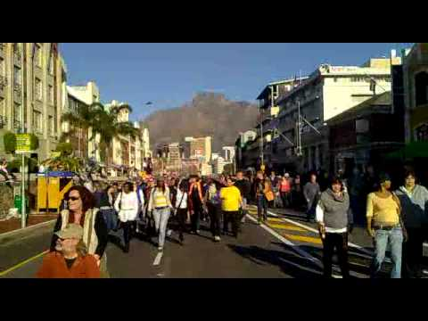 The Cape Town Fan Walk 2