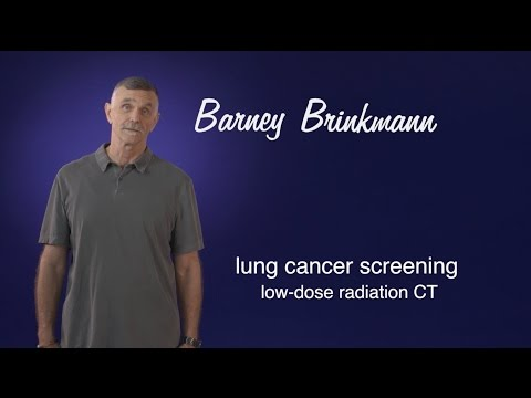 Barney Brinkmann: The mailer caught my eye. The CT screening caught my lung cancer. (Cancer)
