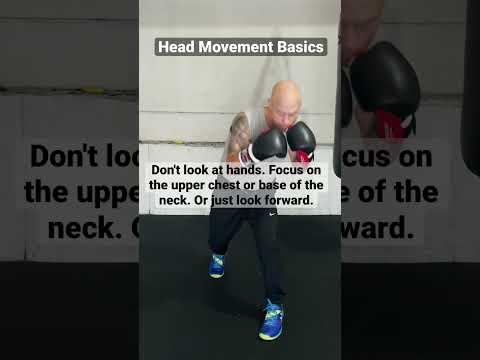Head Movement Basics for Boxing
