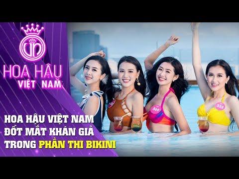 Hoa hậu Việt Nam | Đốt mắt khán giả trong phần thi bikini Hoa Hậu Việt Nam 2018