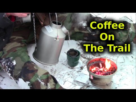 Coffee Making On The Trail