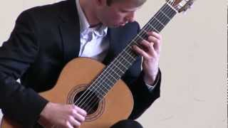 Bach Prelude from Cello Suite No. 1 in G Major - Jonathan McGinnis - Classical Guitar