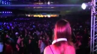 DJ Nicole Baldwin na festa do Décimo em Pelotas/RS
