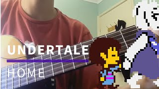 Undertale OST - Home (Solo Guitar Cover)