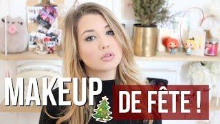 [ Tutoriel Maquillage n°36 ] : MAKEUP DE FÊTE !