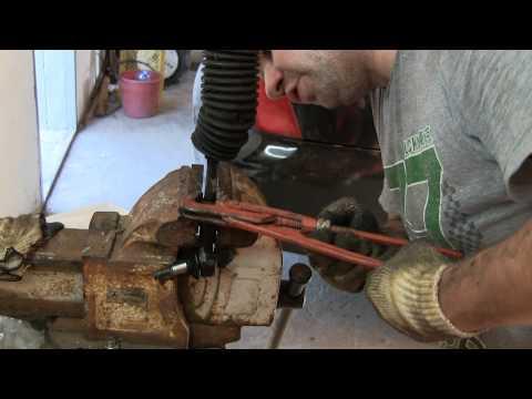 Замена рулевых тяг и наконечников OPEL Vectra B