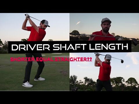 Does Shaft length matter with the Driver (shorter equal straighter?)