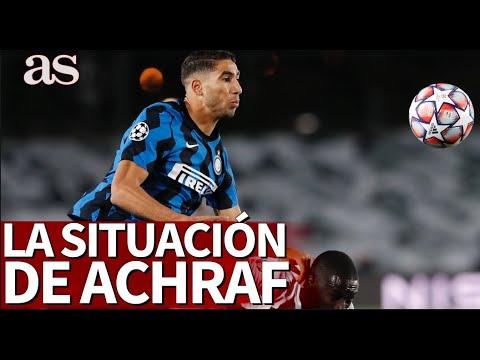 Alarma Achraf en Italia: las razones por las que Conte le relegó al banquillo | Diario AS