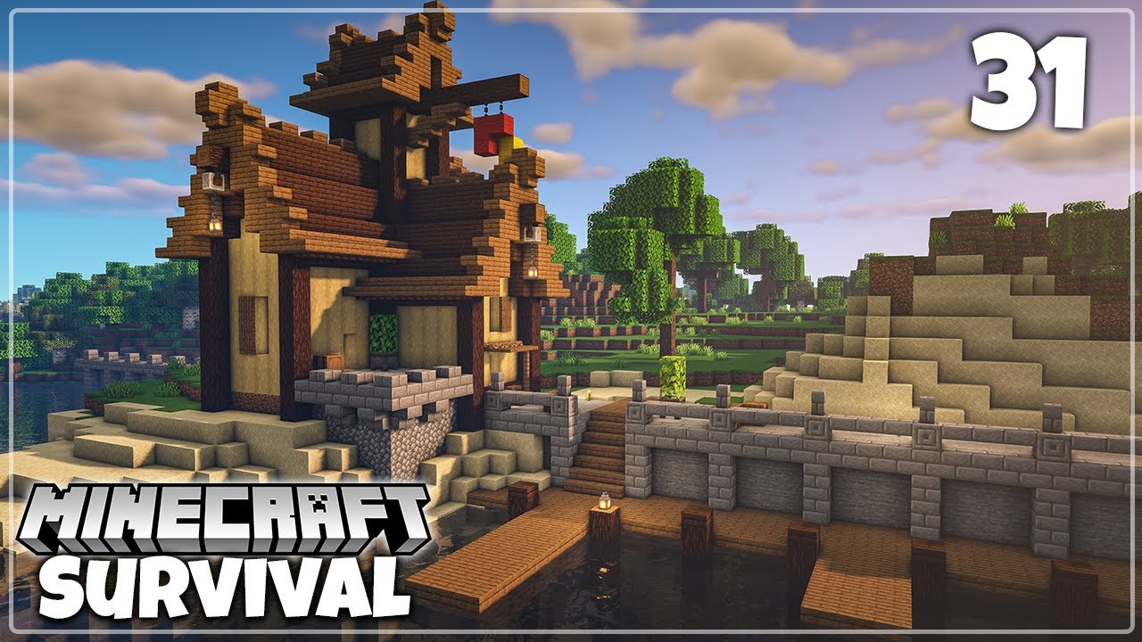 GeminiTay - An Epic New Village! | Minecraft Survival 1.16 Let's Play
