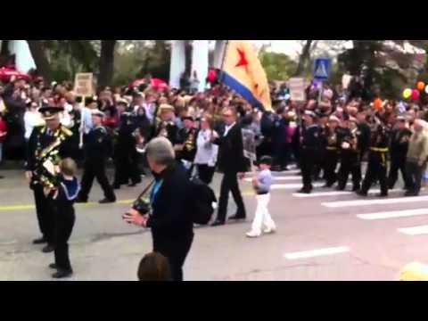 9 Мая! Сегодня! Парад в Севастополе! 2011. День Победы.