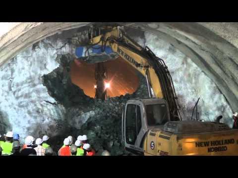 Ankara Sivas Hızlı Tren Projesi Yozgat Şantiyesi Tünelleri