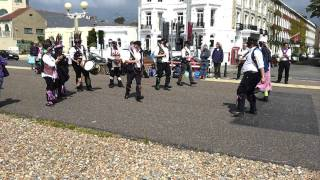 Dead Horse Morris at Worthing Seafront