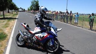 Download video BWM S1000RR stunt demo part 3  Chris Teach