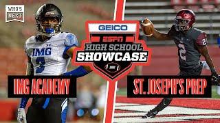 IMG Academy (FL) vs. St. Joseph's Prep (PA) Football - ESPN Broadcast Highlights
