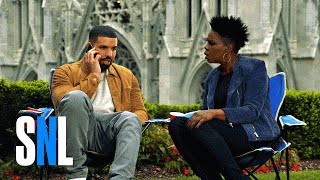 Drake Answers Hotline Bling in SNL Promo