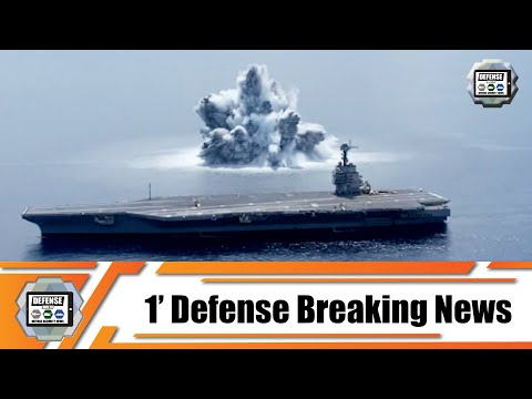 US Navy aircraft carrier USS Gerald R. Ford successfully completed Full Ship Shock Trials