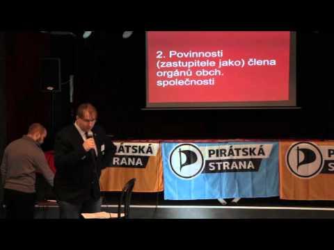 Piratecon Brno 2015: Řízení městských společností z pohledu zastupitelů