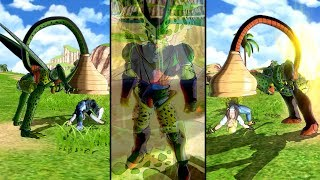 New Transformation Cell Absorbs 17 & 18 Absorption Transformation MOD   Dragon Ball Xenoverse 2