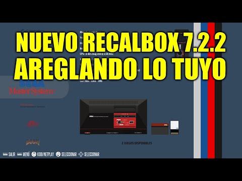 [NUEVO] Recalbox 7.2.2 - Mejoras en Nintendo 64 y corrección de errores - Changelog