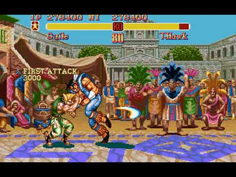 Super Street Fighter II (Guile) (Rozner Labs, Capcom) (MS-DOS) [1996] [PC Longplay]