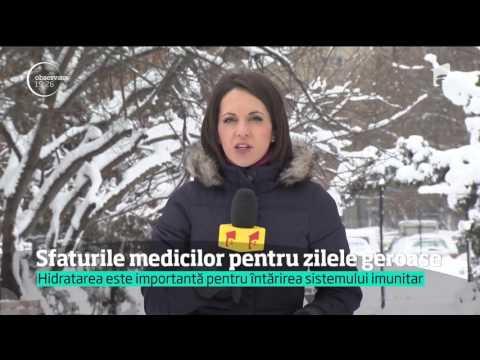 Sfaturile medicilor pentru zile friguroase