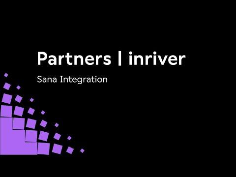 inRiver & Sana Integration Overview