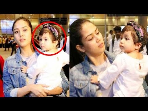 Mira Rajput Can't Stay Away From Baby Misha Kapoor For Even A Minute | Shahid Kapoor daughter