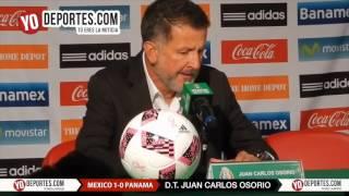 Juan Carlos Osorio Mexico 1-0 Panama Chicago Toyota Park